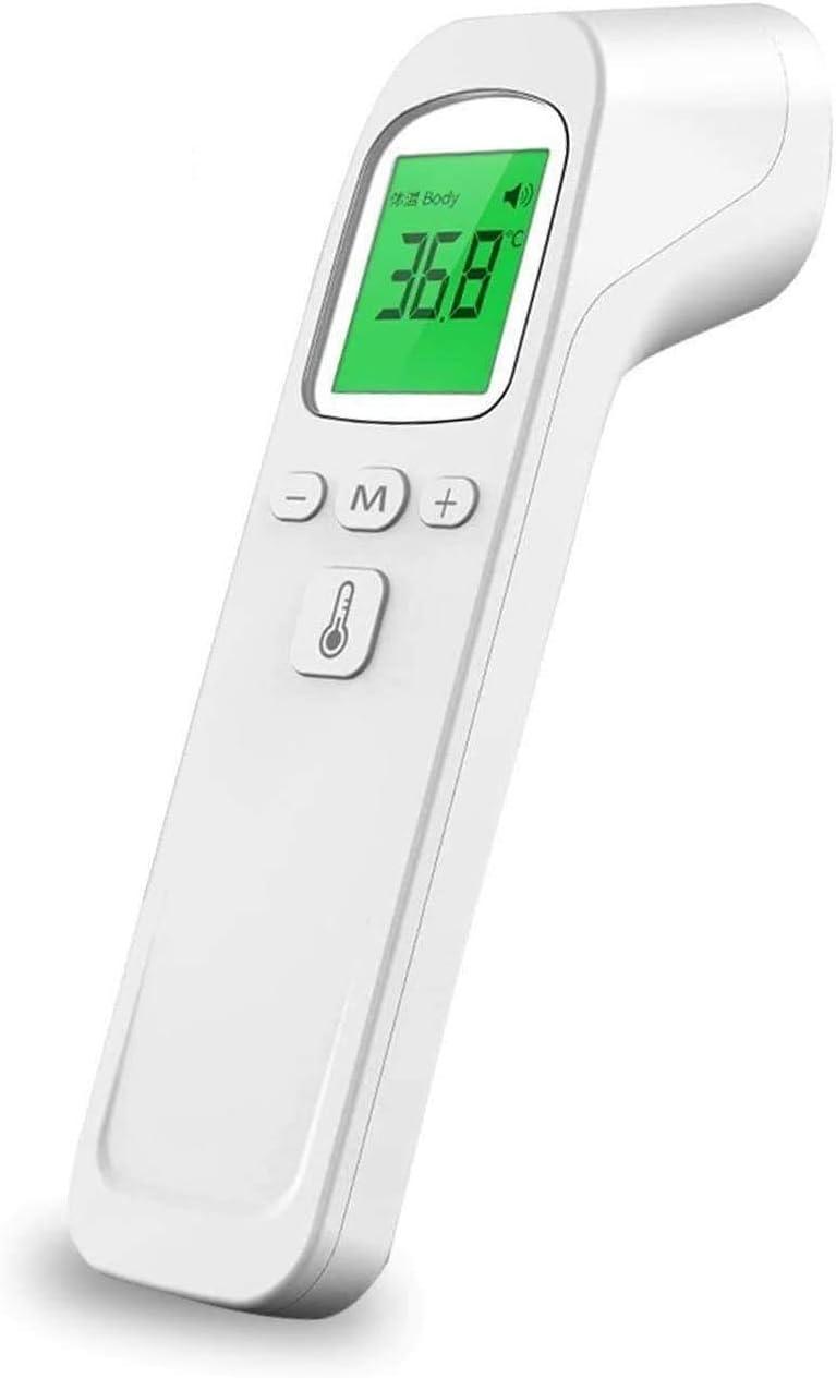 adultos coche de salud en el hogar Term/ómetro electr/ónico infrarrojo sin contacto term/ómetro digital beb/és medici/ón precisa y r/ápida de la pistola de temperatura para ni/ños