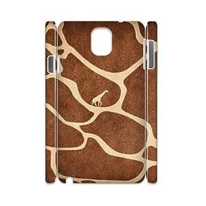 YNFYC Giraffe 4 Phone 3D Case For Samsung Galaxy note 3 N9000 [Pattern-1]
