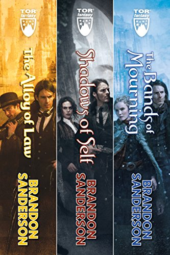Mistborn: The Wax and Wayne Series: Alloy of Law, Shadows of Self, The Bands of Mourning (Series Band)