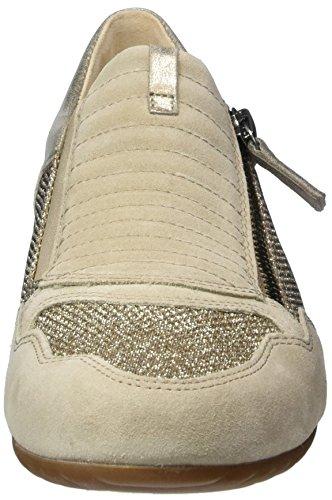 Sneakers Comfort Gabor Damen, Grau Beige (argent / Silk / Mutaro 41)
