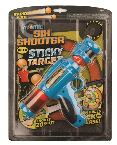Price comparison product image Hog Wild Atomic Six Shooter with Sticky Target