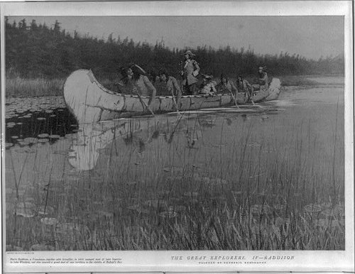 photo-pierre-radissongroseiller-in-canoe-with-indiansvoyage-from-lake-superior
