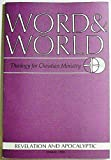 img - for Word & World: Theology for Christian Ministry (Volume 16 Number 2, Spring 1995 book / textbook / text book