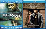 DeJaVu Blu Ray & Training Day Blu Ray 2 Pack Denzel Washington Double Feature Bundle Crime Action Movie Set