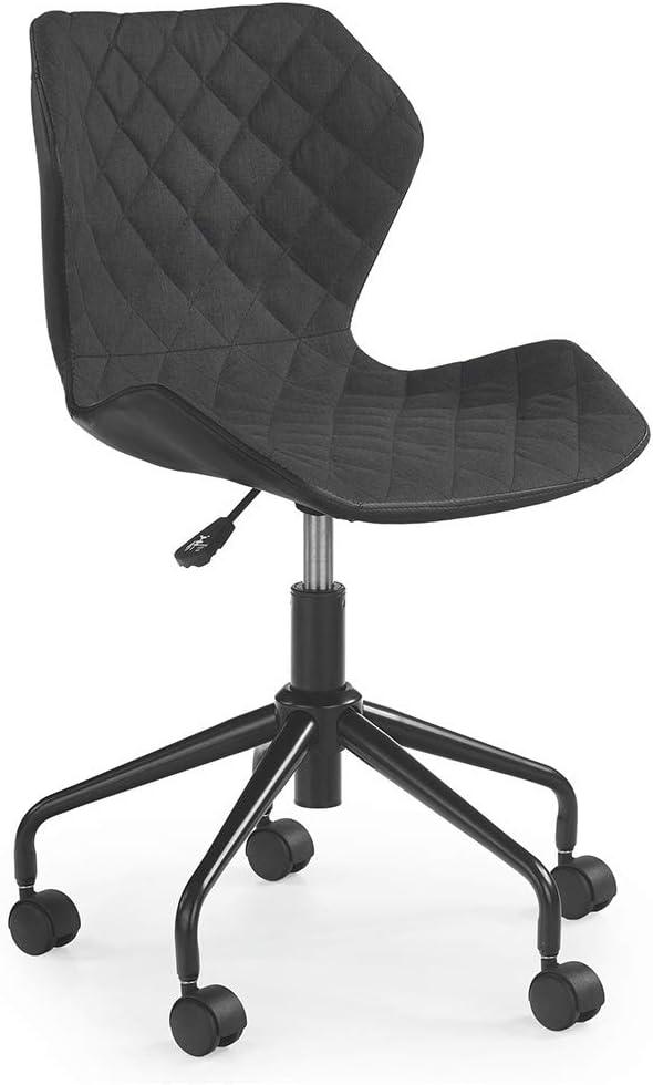 Modern Home Ripple Mid-Back Office Task Chair - Black/Black