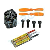 Tarot TL300G5 Blheli Brushless Electronic Speed Control and Brushless Motors with Propellers Set