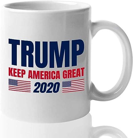 Trump Pence Keep America Great 2020 Coffee Mug Tea Cup Donald Trump Mug 11Oz