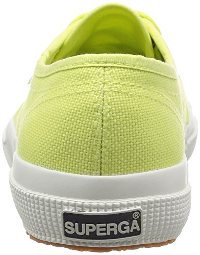 Baskets Mixte 2750 Lime Superga Cotu Green sunny Adulte Sd37 Classic qftaIFdw
