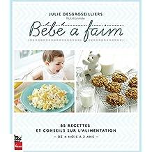 Bébé a faim: 85 recettes et conseils sur l'alimentation, de 4 mois à 2 ans (French Edition)