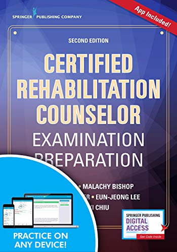 Certified Rehabilitation Counselor Examination Preparation, Second Edition (Book + Free App) ()
