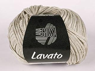 LANA GROSSA - Gomitolo di Lana, 50 g/120 m, Colore: Beige
