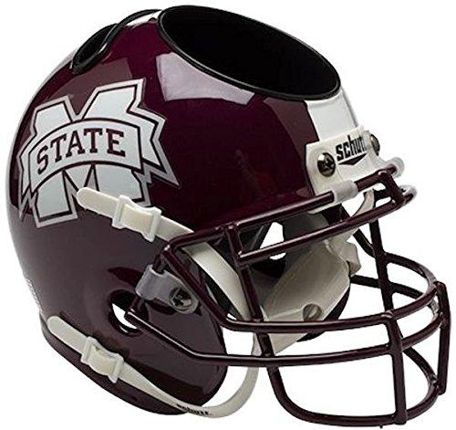 NCAA Mississippi State Bulldogs Mini Helmet Desk Caddy (Mississippi Helmet State)
