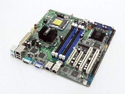 NEW ASUS P5BV-M rev. 1.01G INTEL 3200MCH LGA775 XEON DDR2 PCIe SATA2 Micro-ATX Server Motherboard with XGI Z9s Video/Dual GIGALAN (Motherboard (Xeon Cpu Motherboard)