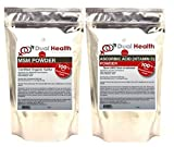 Product review for 1 (8 oz) BAG OF EACH Ascorbic Acid (Vitamin C) & MSM (Methylsulfonylmethane) Powder Combo