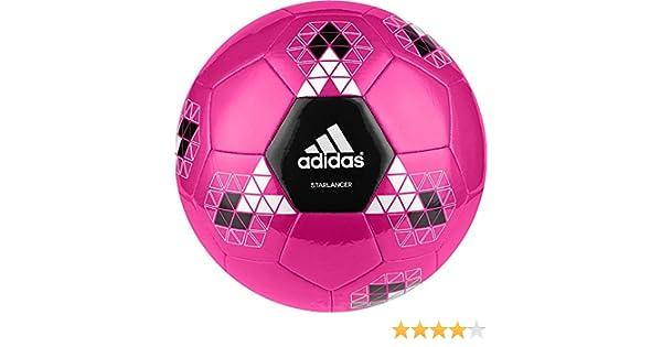 adidas Starlancer V Balón de fútbol, Hombre, Rosa (Rosimp/Negro ...