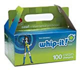 100 Whip-it! NO2 Nitrous Oxide Whip Cream Chargers