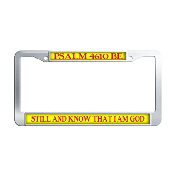 Amazoncom Dongsmer Psalm 4610 Be Still And Know That I Am God