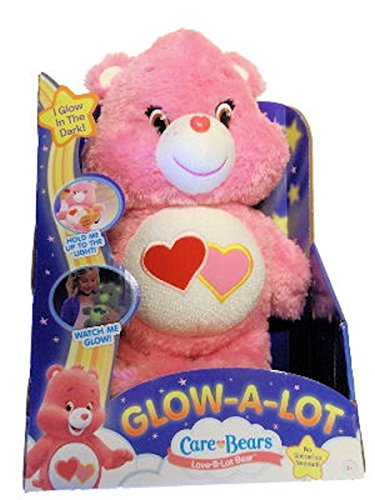 [Care Bears Glow-A-Lot Love Plush] (Care Bear Plush)