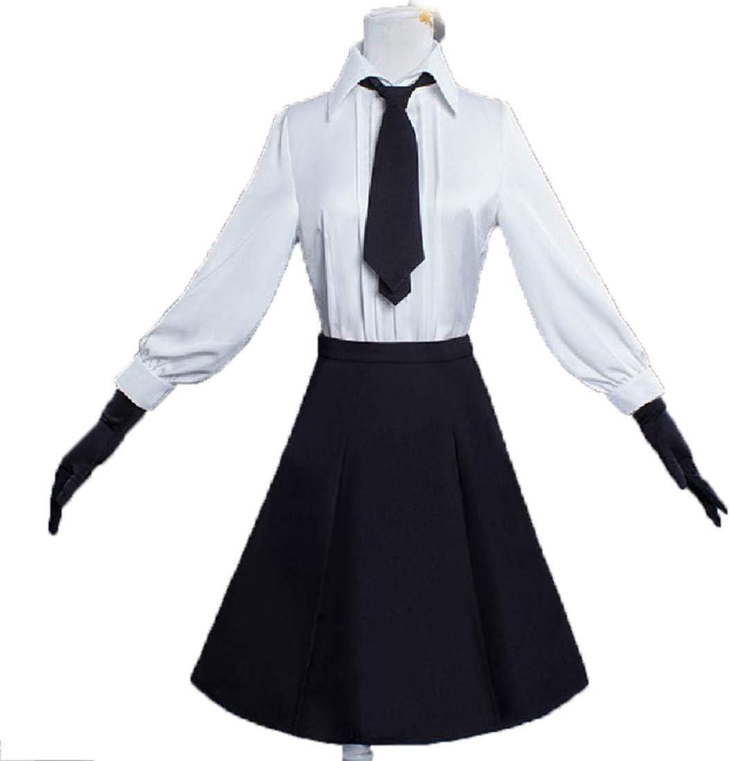 YKJ Traje de Cosplay de Anime Camisa Blanca Vestido Largo ...