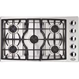 DCS CTD-365-SSL Cooktop 36, 5 Burner, LP Gas