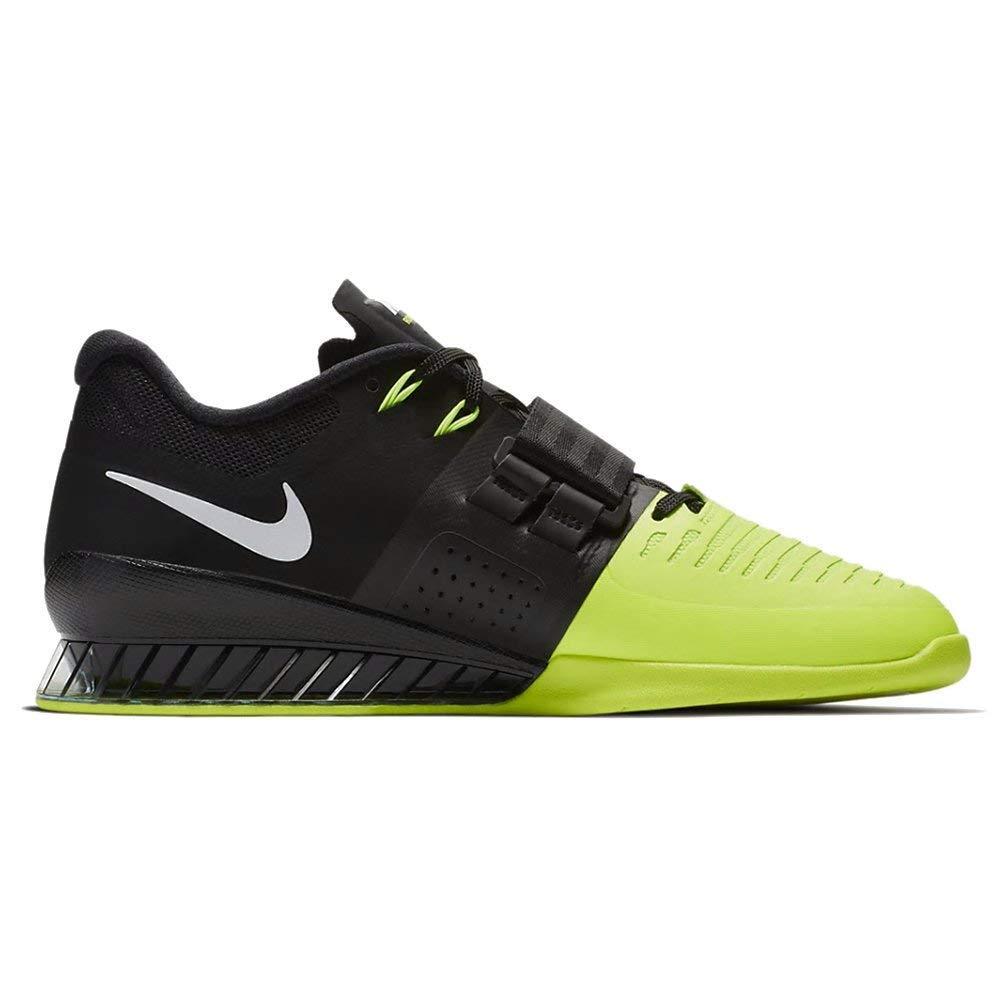 Schwarz(schwarz Weiß Volt 007) Nike Unisex-Erwachsene Romaleos 3 Gymnastikschuhe