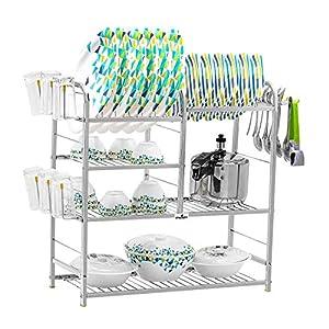 24 inch Wall Mount Modern Kitchen Utensils Dish Rack Stainless Steel Kitchen Rack Utensil Rack Utensil Stand