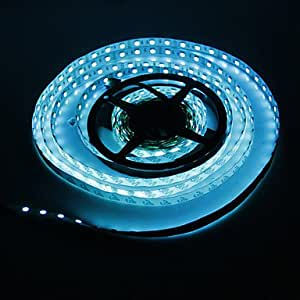 5M 72W 300x5050SMD RGB LED Strip Light with 44-Button Remote Controller (DC 12V)