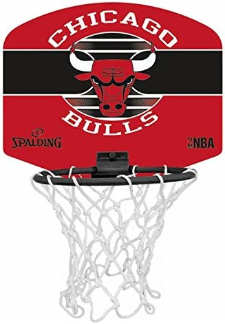 Spalding NBA Miniboard Chicago Bulls 77-649Z Minicanasta, Unisex ...