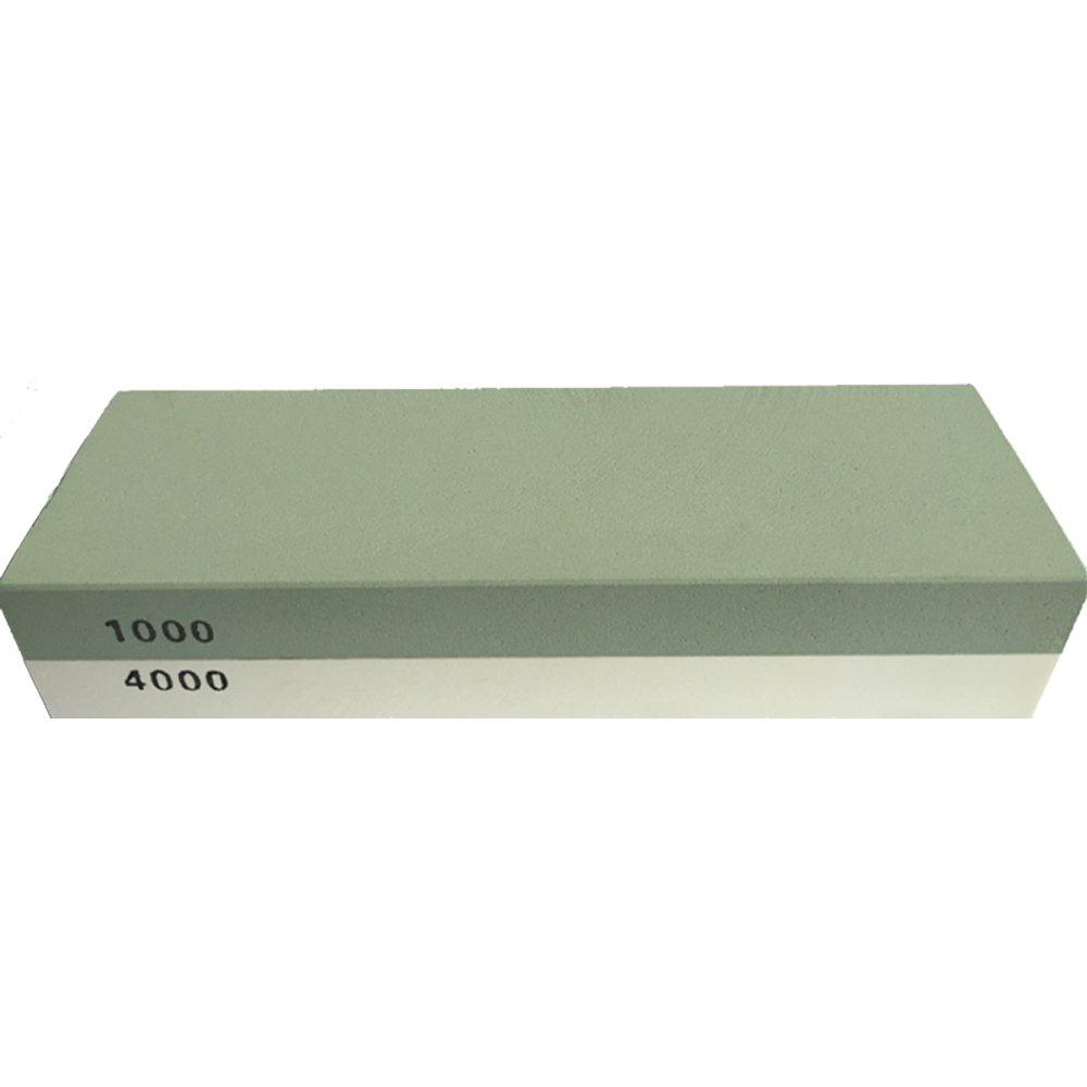 VivReal® Piedra de afilar con doble cara al agua Grano 1000 / 4000 tipo Japonesa. Afilador Navaja, cuchillo, tijeras