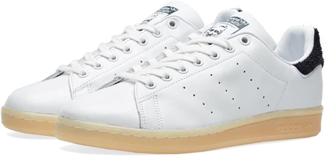 adidas Womens Stan Smith Leather Trainers: