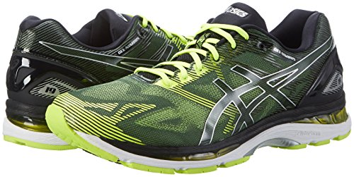 black Multicolore safety Chaussures Homme Yellow De Running silver nimbus Asics Gel 19 q6SS8