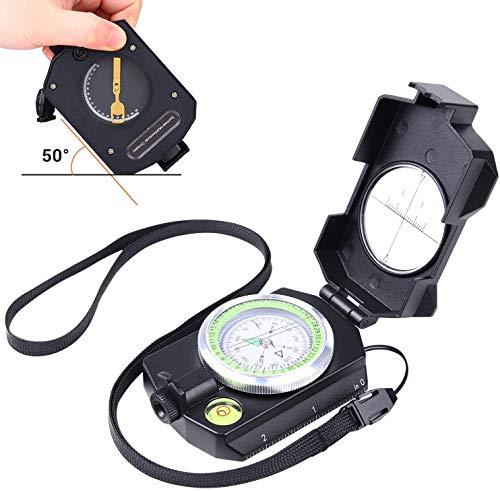 Sportneer Boussole d'observation légère avec inclinomètre, calculateur de Distance, boussoles de Survie Militaires… 1