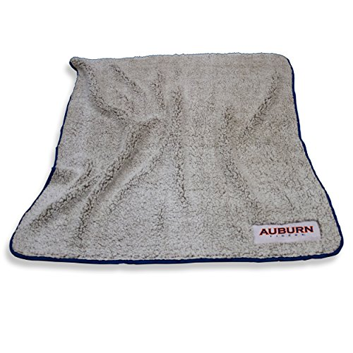 Logo Brands Auburn Tigers Frosty Fleece Blanket]()