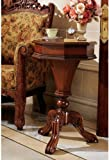 17th Century Antique Replica Hinged Storage Side Occassional Accent Table For Sale