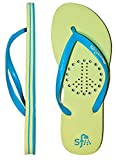Showaflops Girl's Antimicrobial Shower & Water Sandals - Peace Sign