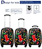 Kids Luggage With Spinner Wheels Hard Shell Carry
