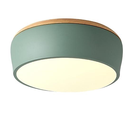 24 W LED de techo verde lámpara LED de techo de metal ...