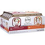 Nutro ULTRA Grain Free Filets in Gravy Wet Dog Food Bistro Mix Variety Pack, 3.5 Ounce Trays (Pack of 12)