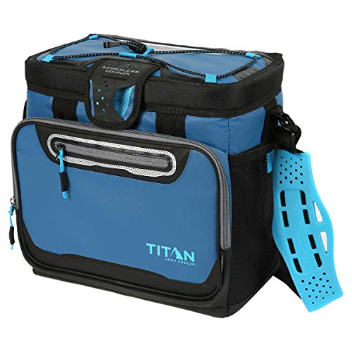 Titan Deep Freeze Zipperless Cooler Bag by Arctic Zone with Smart Bin - - Hardliner Cooler