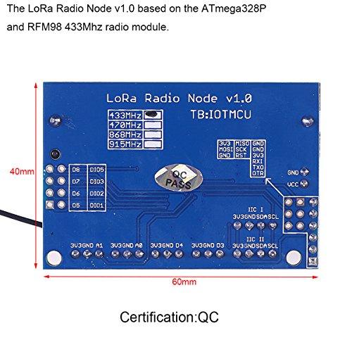 MakerFocus LoRa Radio Module Based on the ATmega328P, 433 MHz