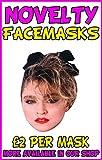 Madonna 80'S Novelty Celebrity Face Mask Party Mask Stag Mask