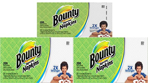 Bounty Paper Napkins, 500 Count by Procter & Gamble Commercial