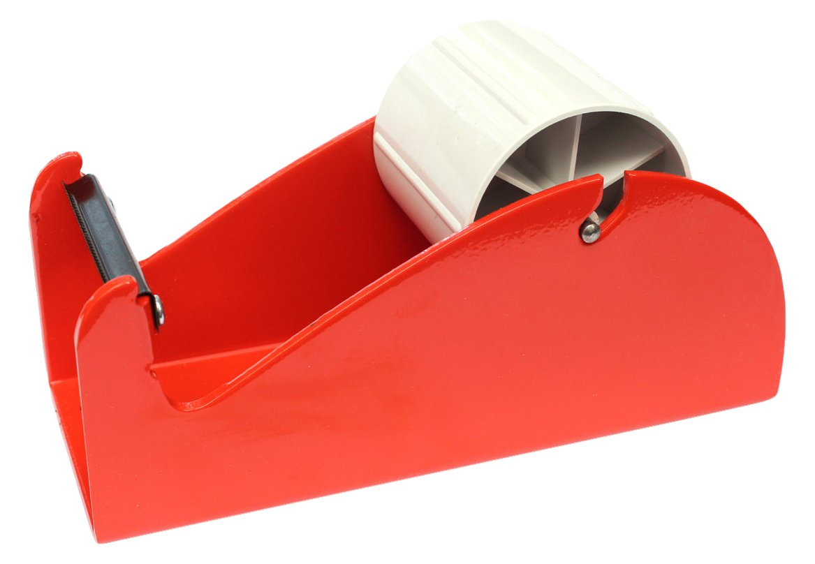 BONUS Eurotech 3AX00.00.0075/000 Manual Desktop Dispenser BD50. For Single Sided Adhesive TapesFor Tapes Up To 75 mm Wide, Orange