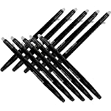 Pilot Frixion Ball Slim Retractable Erasable Gel Ink Pens,fine Point, - 0.38 Mm - Black Ink- Value Pack of 10