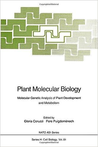 Plant Molecular Biology: Molecular Genetic Analysis of Plant