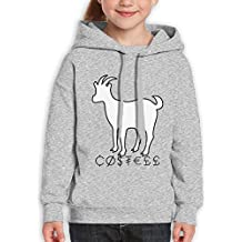 Guangchn Erika&COSTELL Youth Girls Student Pullover Casual Cotton Hooded Sweatshirt