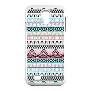 AKLPHONECASE Aztec Tribal Pattern Plastic Hard Case For Samsung Galaxy S4 i9500 [Pattern-6]