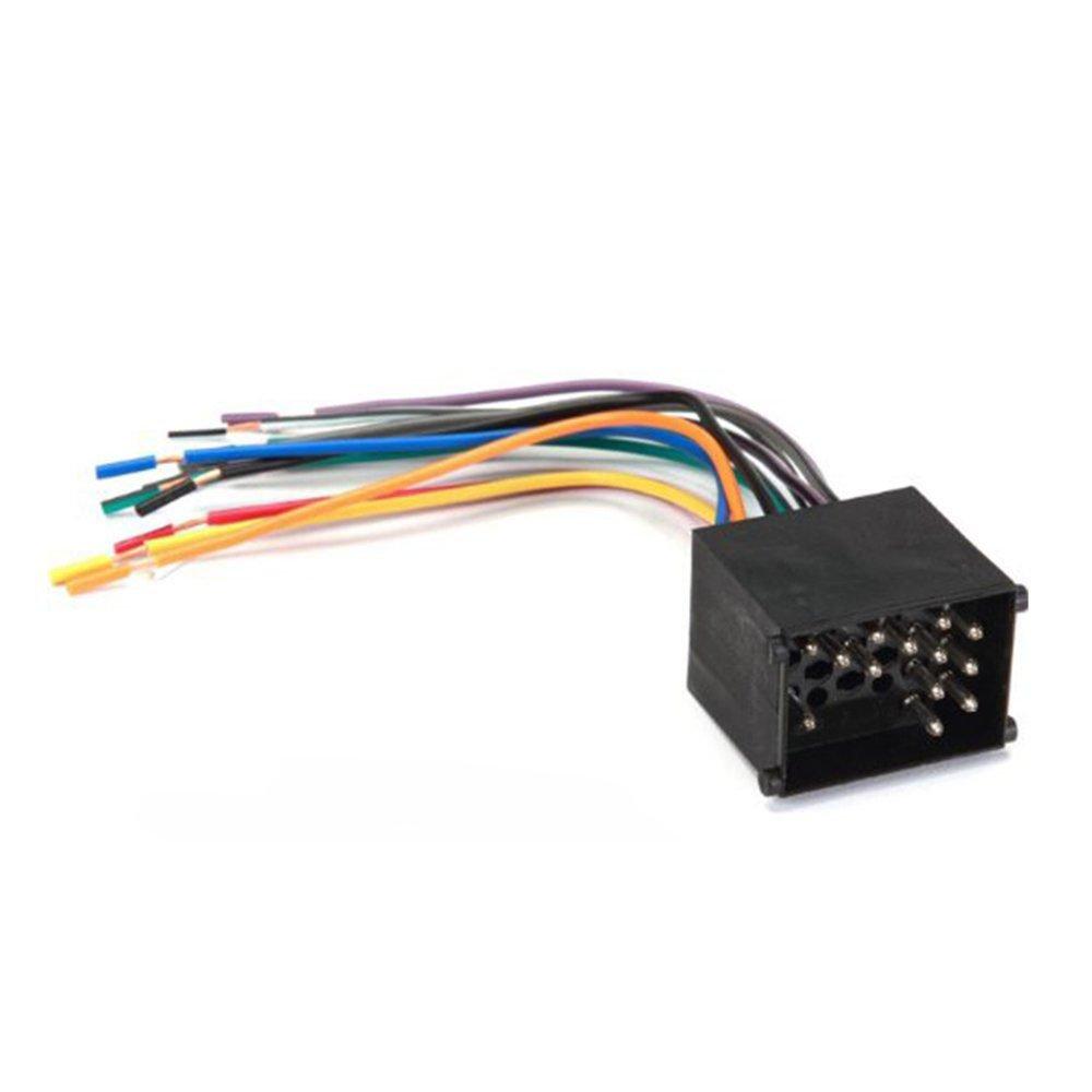 Amazon.com: Stereo Wire Harness Volkswagen Jetta 99 00 01 02 1999 2000 2001  2002 (car radio wiring installation parts): Automotive