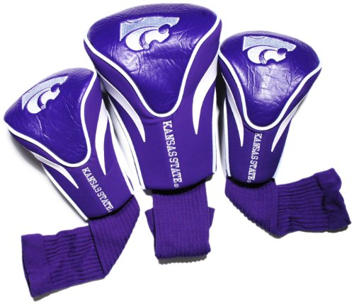 NCAA Kansas State Wildcats 3 Pack Contour Head - Mesh State Kansas Wildcats