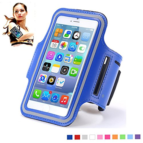 Sports Armband Running Gym Mobile Phone Running Cover for iphone 6 /6s. (Blue)
